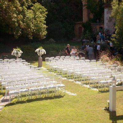 Ceremony in the garden