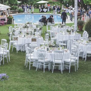 Dinner set up - Photo by Ceci photography